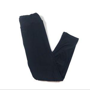 Lularoe Black One Size OS Leggings
